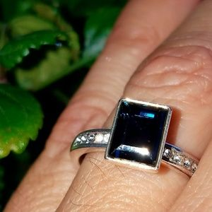 Sapphire Simulate Ring